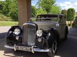 1952 Bentley R Type for weddings in East Grinstead